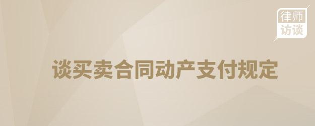 合同法助阵赢国家赔偿——谈买卖合同动产支付规定