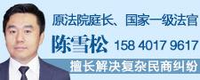 沈阳陈雪松律师