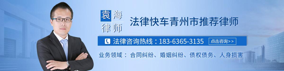 青州律师-袁海律师