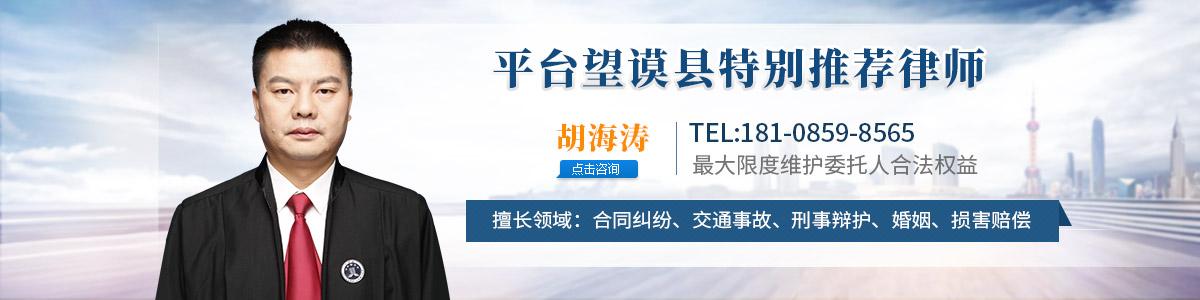 望谟县律师-胡海涛律师