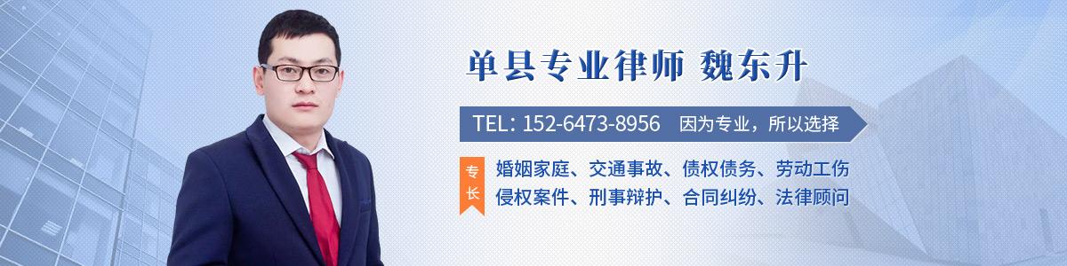 单县律师-魏东升律师